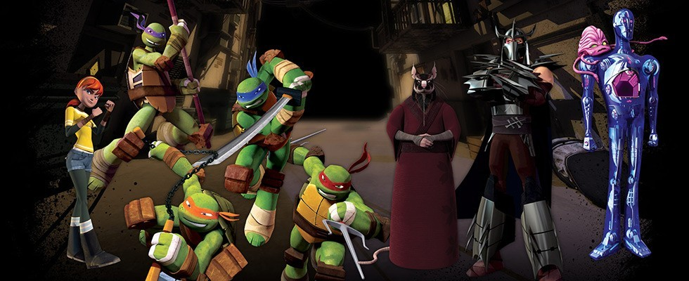 Teenage Mutant Ninja Turtles 2012 / TMNT 2012 / კუ ნინძები