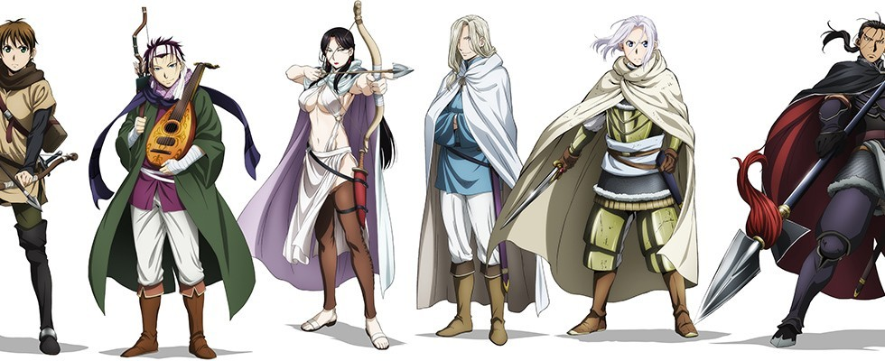 Arslan Senki (TV) / The Heroic Legend of Arslan / Сказание об Арслане