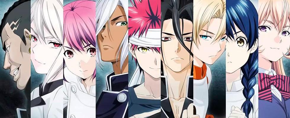 Shokugeki no Souma TV2 / Food Wars / Кулинарная битва Сомы / სომას კულინარული ბრძოლა