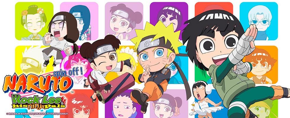 Naruto SD: Rock Lee no Seishun Full Power / ЧИБИ Наруто: Весна Юности Рока Ли