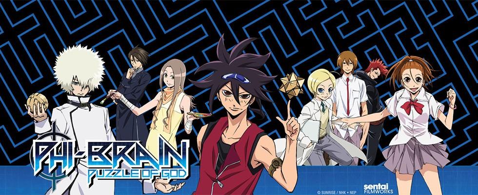 Phi Brain: Kami no Puzzle / Фи Брейн: Божественная головоломка